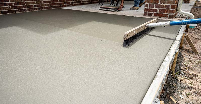patio concrete installation in jacksonville fl